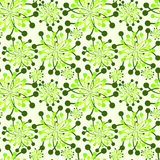 Seamless garden pattern background Stock Image
