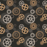 Seamless gear. Royalty Free Stock Images