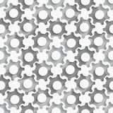 Seamless gears background layered Royalty Free Stock Images