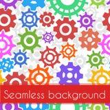 Seamless gears pattern Royalty Free Stock Photos