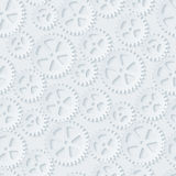 Seamless gears pattern. Stock Image