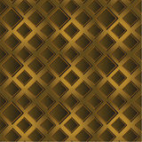 Golden volume geometrical texture Royalty Free Stock Photo