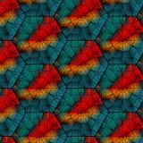 Seamless  gemstone  pattern Stock Photo