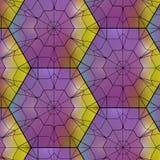 Seamless  gemstone  pattern Stock Image