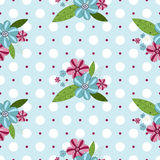 Seamless gentle floral pattern Stock Image