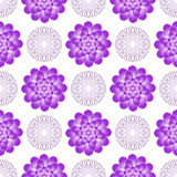 Seamless gentle pattern with vintage flowers Royalty Free Stock Photos