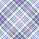Seamless gentle tartan diagonal pattern Stock Photos