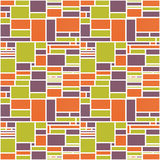 Seamless Geometric Abstract Colorful Pattern Royalty Free Stock Image