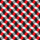 Seamless geometric abstract faceted 3d pattern background. Wallpaper vector illustration