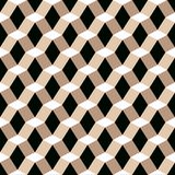 Seamless geometric abstract faceted 3d pattern background. Wallpaper royalty free illustration