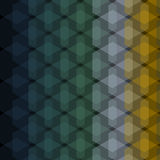 Seamless Geometric Abstract Pattern from Colorful Hexagons Royalty Free Stock Photo