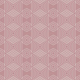 Seamless Geometric Abstract Pattern from Colorful Hexagons Stock Photography