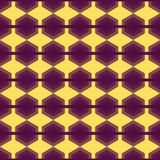 Seamless Geometric Abstract Pattern from Colorful Hexagons Stock Images