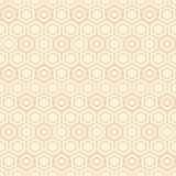 Seamless geometric abstract pattern of hexagons. Fashion geometrical pattern. For fashion textile, cloth, backgrounds. Vector background Stock Photos