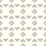 Seamless geometric abstract pattern. Vector illustration. Royalty Free Stock Photo