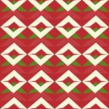 Seamless geometric abstract patterns in ethnic style. Vector Royalty Free Stock Photography
