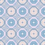 Seamless geometric arabesque oriental pattern. Vector traditional ethnic background. Perfect for fabrics, promotional products, notebooks stock illustration