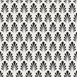 Classic Floral Art Deco Seamless Pattern. Geometric Stylish Texture. Abstract Retro Vector Texture. Royalty Free Stock Images
