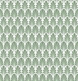 Classic Floral Art Deco Seamless Pattern. Geometric Stylish Texture. Abstract Retro Vector Texture. Stock Photo