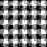 Seamless geometric background. Abstract repeatable monochrome pa Stock Photography