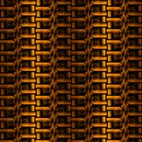 Abstract zipper pattern yellow orange gold brown vertically dimensional. Seamless geometric background. Abstract zipper pattern in yellow, orange, gold and brown Stock Images