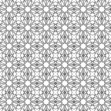 Seamless geometric background. Arabic pattern. Stock Images
