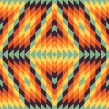 Seamless geometric background. Mosaic Stock Photography