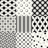 Seamless geometric background pattern Royalty Free Stock Photos