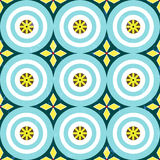 Seamless geometric background pattern, Royalty Free Stock Photo