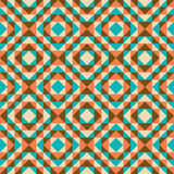 Seamless geometric background. Seamless geometric retro color background Stock Photos