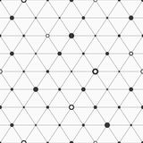 Seamless geometric background with triangles. Royalty Free Stock Photo