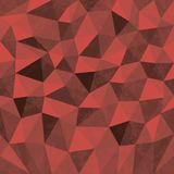 Seamless Geometric Background Of Triangular Polygons Pattern Royalty Free Stock Photography
