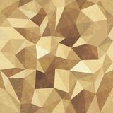 Seamless Geometric Background Of Triangular Polygons Pattern Stock Photography