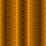 Seamless geometric background. Seamless geometric vector illustration on golden background Royalty Free Stock Photos
