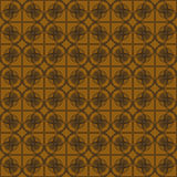 Seamless geometric background. Seamless geometric vector illustration on golden backgroundn Royalty Free Stock Photos