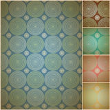 Seamless geometric background wall paper. Vector illustration in .CS and .EPS10. May contain transparency Royalty Free Stock Photos