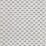 Seamless geometric black and white pattern. Stock Images