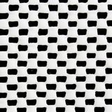 Seamless geometric black and white pattern. Royalty Free Stock Photos