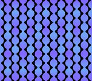 Seamless Geometric Blue Background with Dark Back. Vector Stock Photo