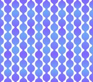 Seamless Geometric Blue Background with Light Back. Vector Stock Photos