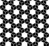 Seamless Geometric Box Pattern. Vector Royalty Free Stock Photo