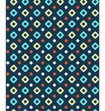 Seamless geometric bright abstract pattern. Seamless geometric bright contrast abstract pattern vector illustration
