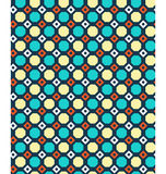 Seamless geometric bright abstract pattern Stock Image