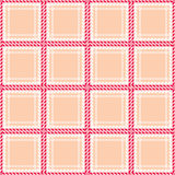 Seamless geometric checked pattern Royalty Free Stock Image