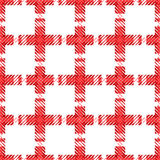 Seamless geometric checked pattern. Royalty Free Stock Photo