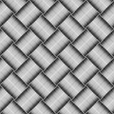 Seamless geometric checked texture. Royalty Free Stock Photo
