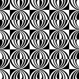 Seamless geometric checked texture. Royalty Free Stock Photos