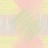 Seamless geometric checkered grunge striped patter Stock Photography