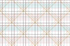Seamless geometric checks shirt design. Color royalty free illustration