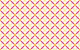 Seamless geometric checks shirt design. Color vector illustration